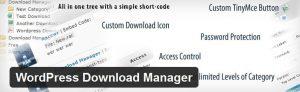 افزونه مدیریت دانلود فایل برای وردپرس ( download manager WordPress )