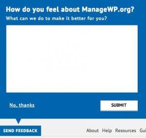 اضافه کردن feedback به وردپرس