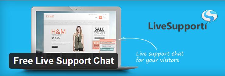 Photo of پشتیبانی آنلاین تیکت بر پایه پلاگین Free Live Support Chat
