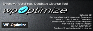 افزونه بهینه ساز دیتابیس وردپرس WP Optimize