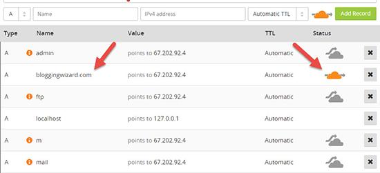 تائید DNS records