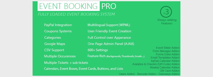 افزونه نوبت دهی وردپرس Event Booking
