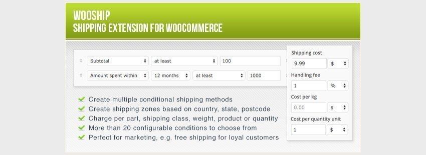 افزونه ووکامرسWooShip - WooCommerce Shipping Plugin