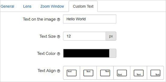 لنز افزونه زوم تصویر وردپرس WP Image Zoom