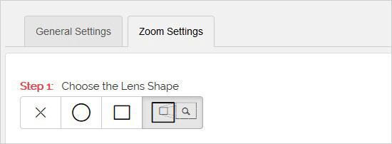 شکل لنز افزونه زوم تصویر وردپرس WP Image Zoom