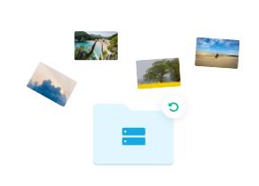 دسترسی به تصاویر اصلی تنها با یک کلیک