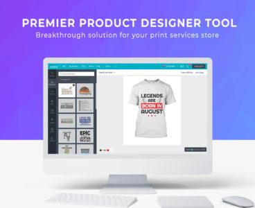افزونه طراحی محصول ووکامرس Lumise Product Designer